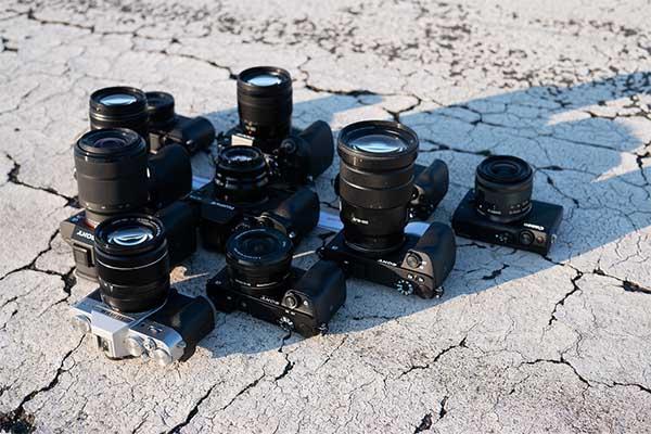 material fotografico para stock